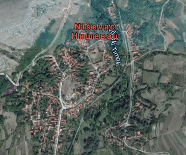 Niševac, google maps, foto: GM
