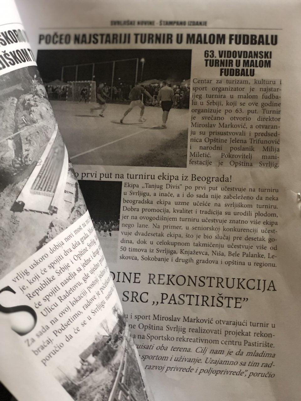 Novine, foto: Svrljiške novine
