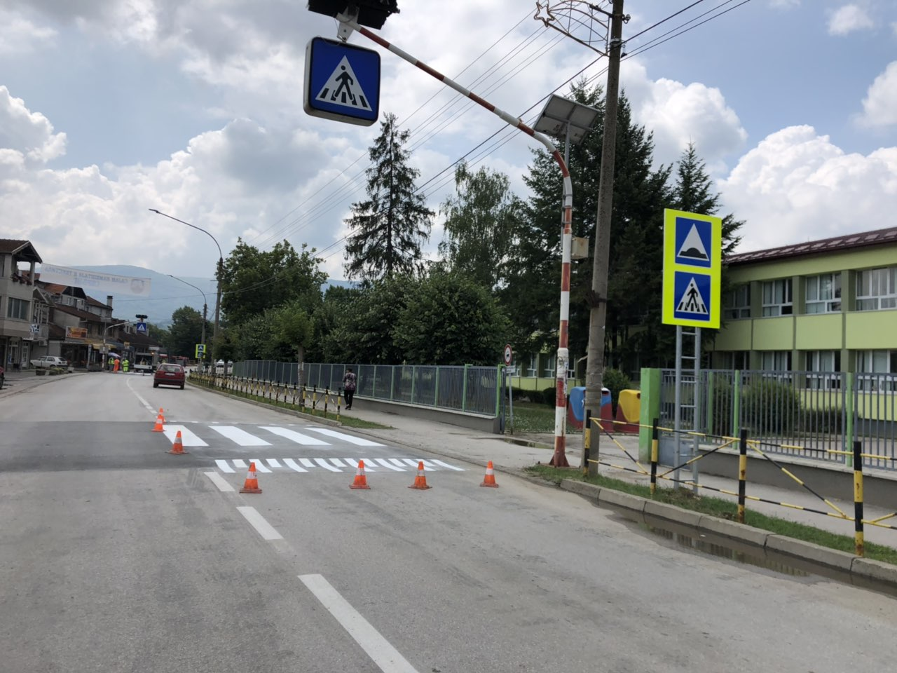Završeno obeležavanje saobraćajnica kroz Svrljig