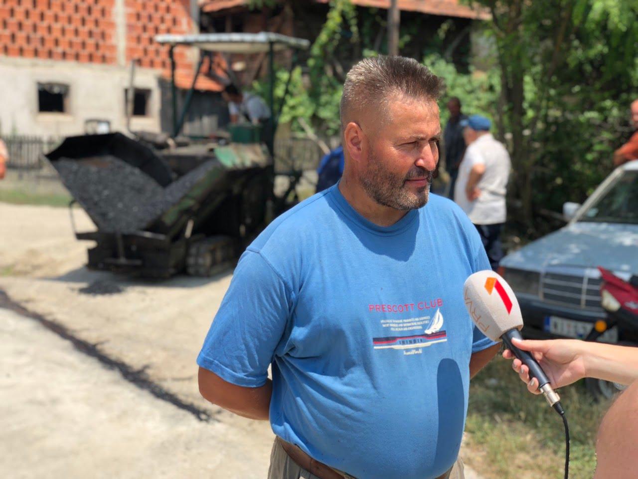 Predsednik MZ Niševac, foto: Radio Bubamara