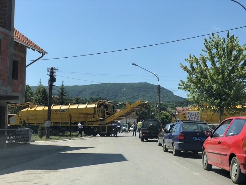 Radovi na popravci pruge, foto: RBS
