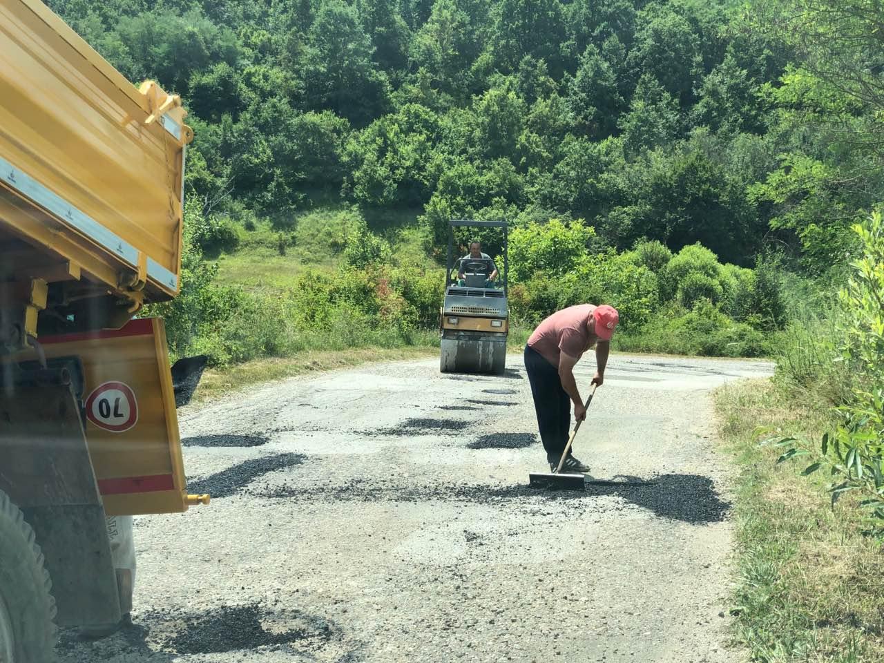 Krenula sanacija udarnih rupa prema Drajincu