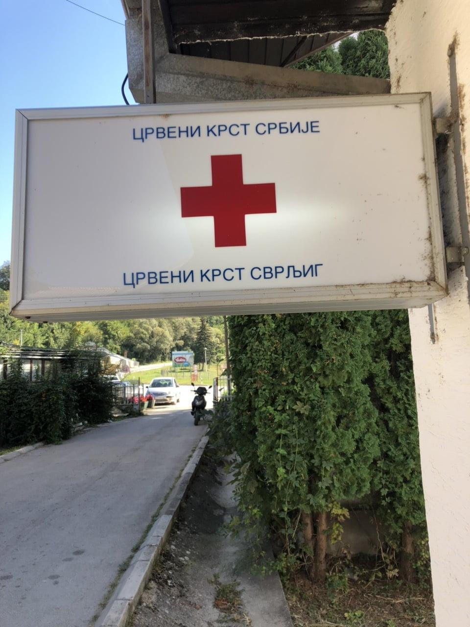 Crveni krst tabla, foto: M. Miladinović