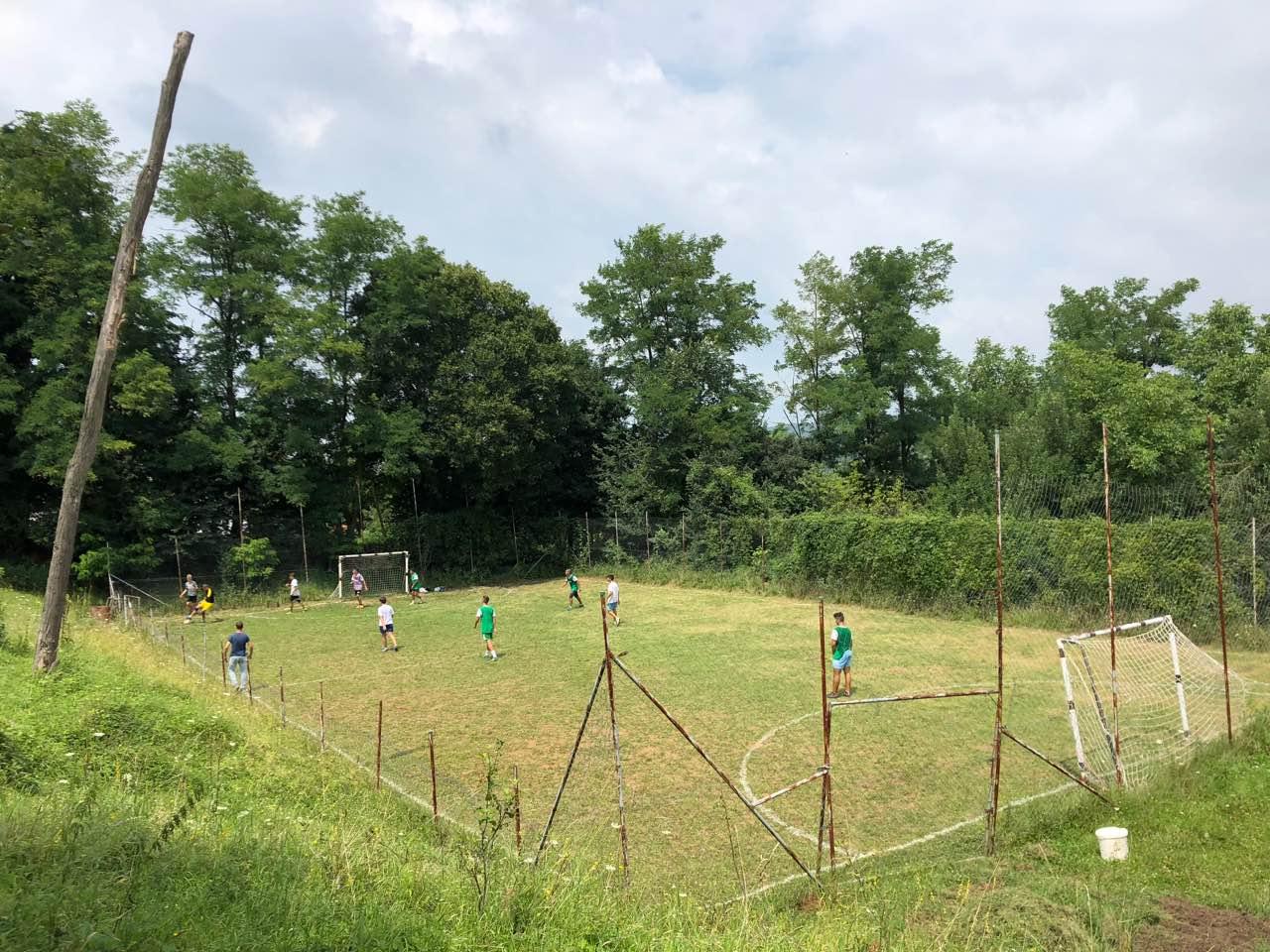 Sportski teren, foto: M. Miladinović