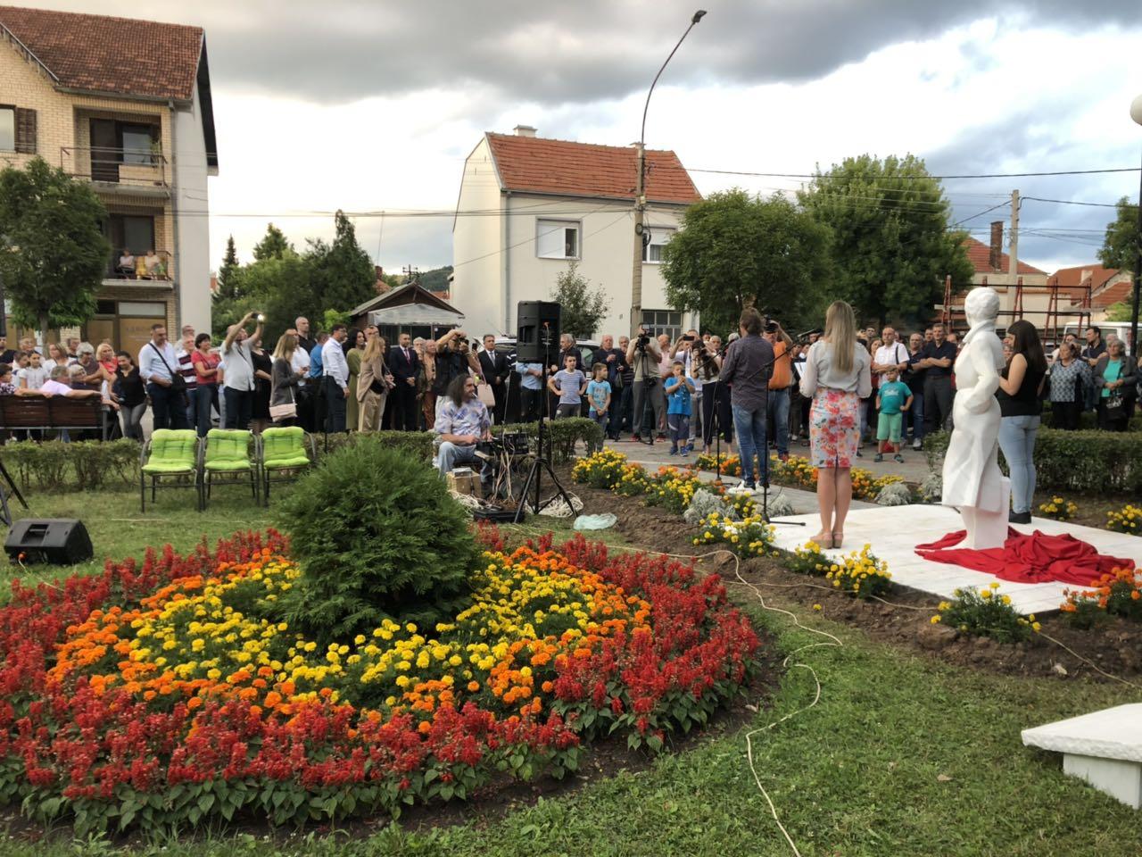 Zlata Petković, gradski park Svrljig, foto: RBS