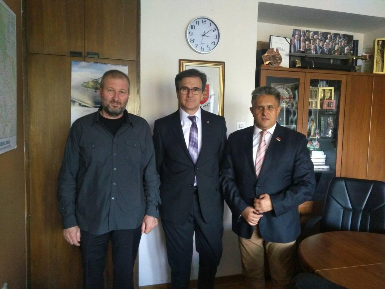 Matković, Nerić i Miletić, foto: M.M.