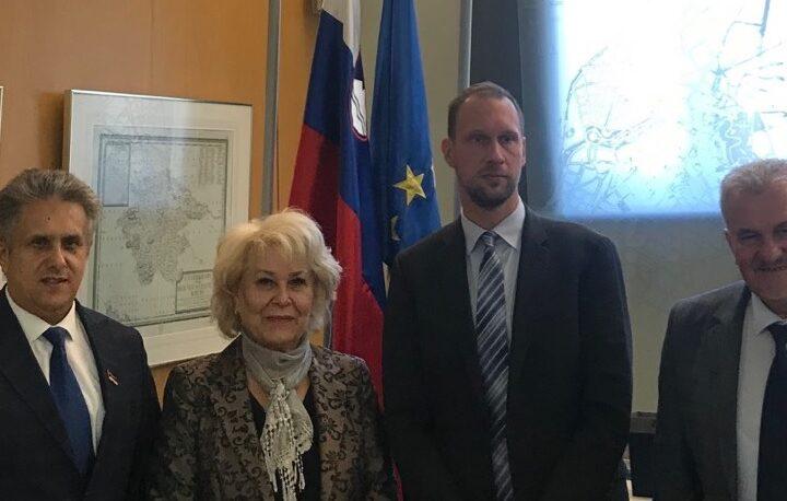 Sastanak u Sloveniji, foto: Miletić, privatna arhiva