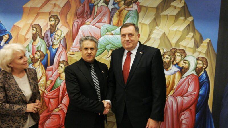 Miletić i Dodik, foto: Miletić, arhiva