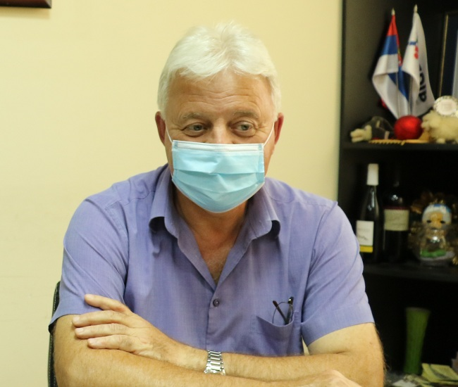 Dr Ljutomir Davidović, foto: RBS
