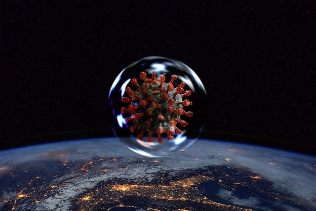 Korona virus, foto: Pixabay