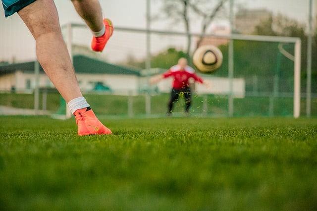 Ilustracija, fudbal, sport, preuzeto: pixabay, autor: Phillip Kofler