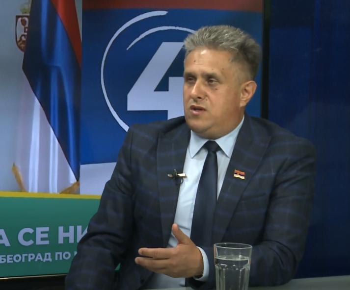 Narodni poslanik Milija Miletić, foto: Belami TV