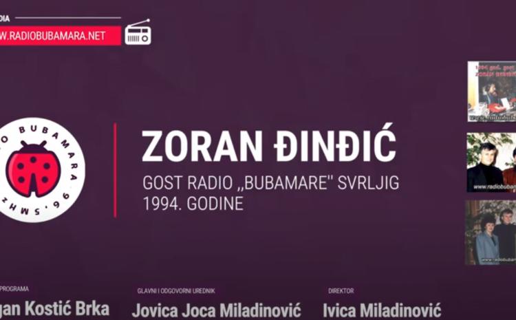 """Kada niko nije smeo, radio ,,Bubamara"""" ugostila je Zorana Đinđića 1994-te"""