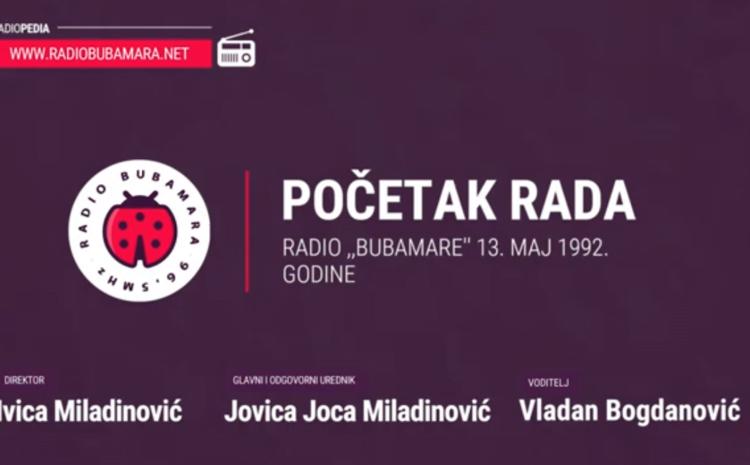"""Ovako je izgledao početak rada Radio ,,Bubamare"""" – 13. maj 1992. godine (VIDEO)"""