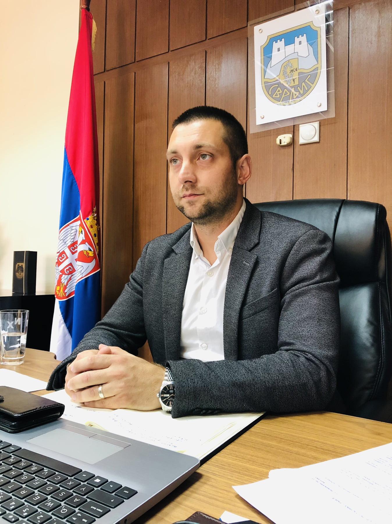 Miroslav Marković, predsednik Opštine, foto: RBS