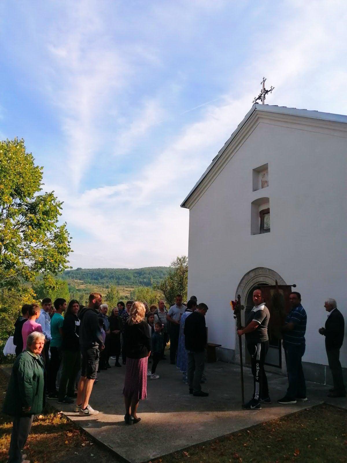 Fotografija preuzeta sa Fejsbuk profila svrljiške crkve