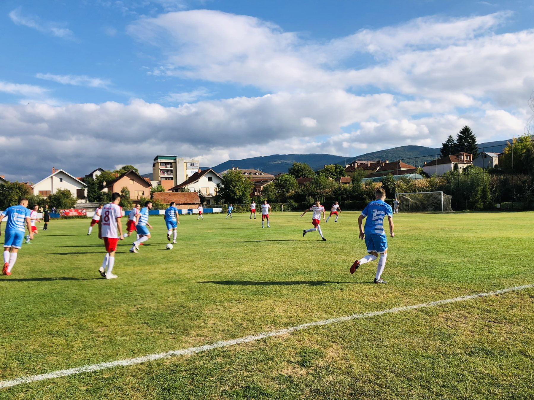 Fudbaleri FK ,,Svrljig'', autorska fotografija: Radio Bubamara